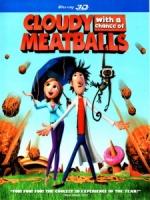 [英] 食破天驚 3D (Cloudy with a Chance of Meatballs 3D) (2009) <2D + 快門3D>[台版]