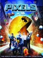 [英] 世界大對戰 3D (Pixels 3D) (2015) <2D + 快門3D>[台版]