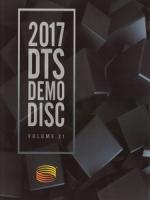 2017 DTS Blu-Ray Demo Disc Vol. 21 藍光測試碟