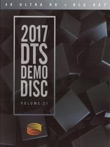 2017 DTS Demo Disc Vol. 21 4K 藍光測試碟