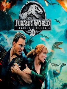 [英] 侏羅紀世界 - 殞落國度 3D (Jurassic World - Fallen Kingdom 3D) (2018) <2D + 快門3D>[台版]